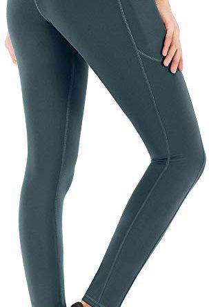6c8407b44cb4c IUGA High Waist Yoga Pants with Pockets